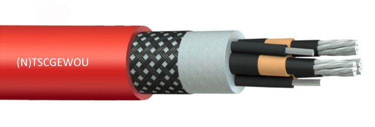 NTSCGEWOU EPR PCP High Voltage Reeling Cable