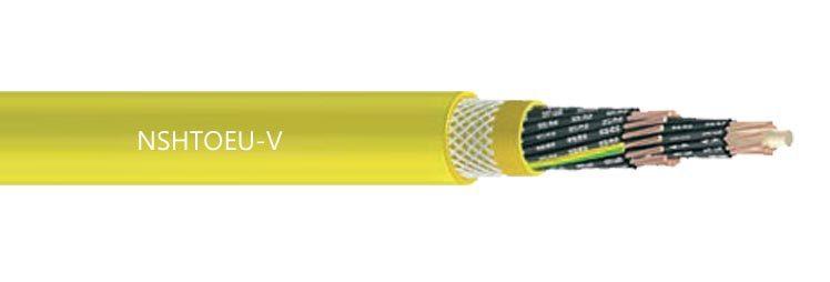 NSHTOEU-V EPR PCP Low Voltage Drum Reeling Cable