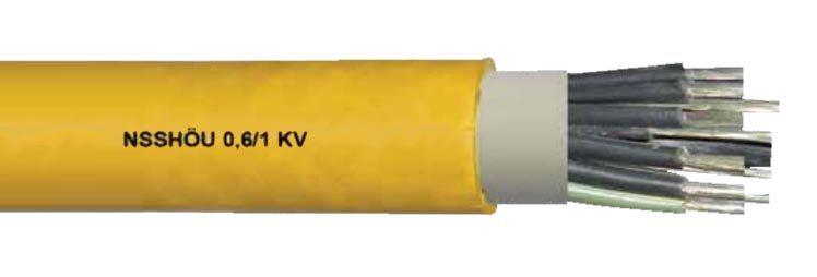 NSSHOU 0.6 1KV Mining Cable