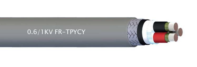 FR-TPYCY JIS C3410 Shipboard Fire Resistant Power&Lighting Cable