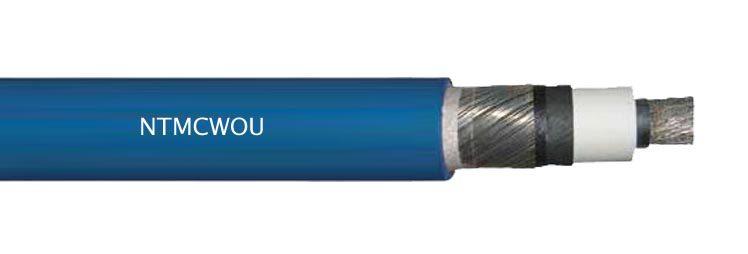 NTMCWOU Flexible MV Single Core Mining Cable