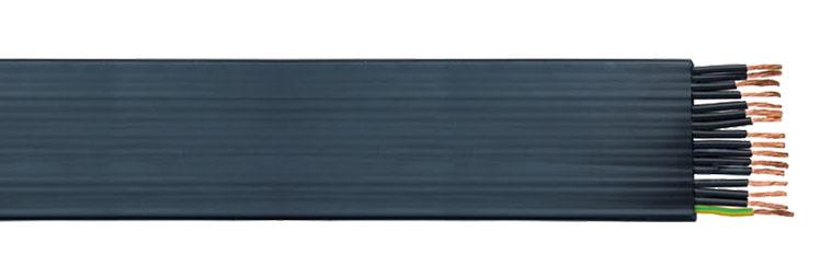 H07VVH6-F Flat PVC Festoon CableH07VVH6-F Flat PVC Festoon Cable