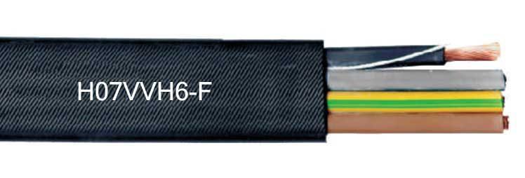 H07VVH6-F PVC Flat Festoon Cables