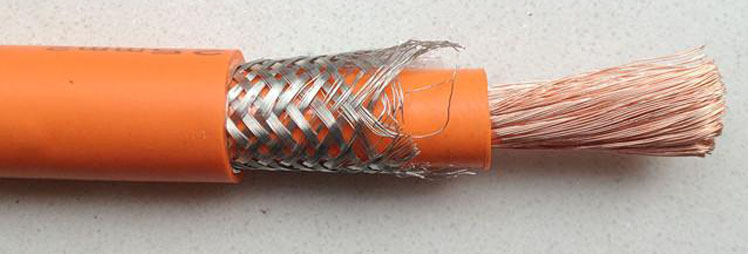 High Voltage Screened EV Cable