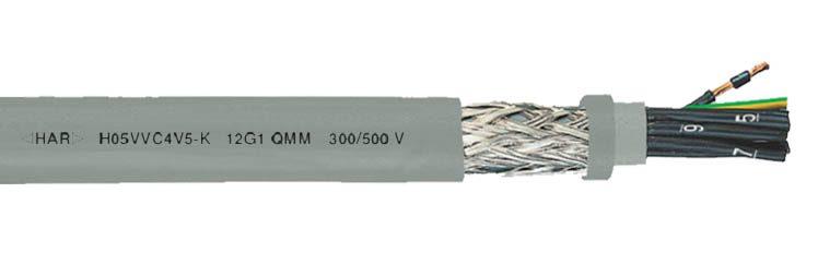 H05VVC4V5-F NYSLYCYO PVC Control Cable